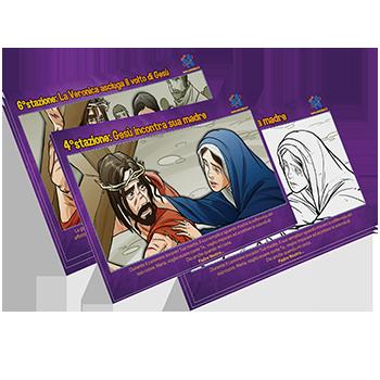 Via Crucis Illustrata Per Aiutare I Bambini A Conoscere La Passione