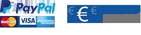 PayPal Visa Mastercard Bonifico Bancario